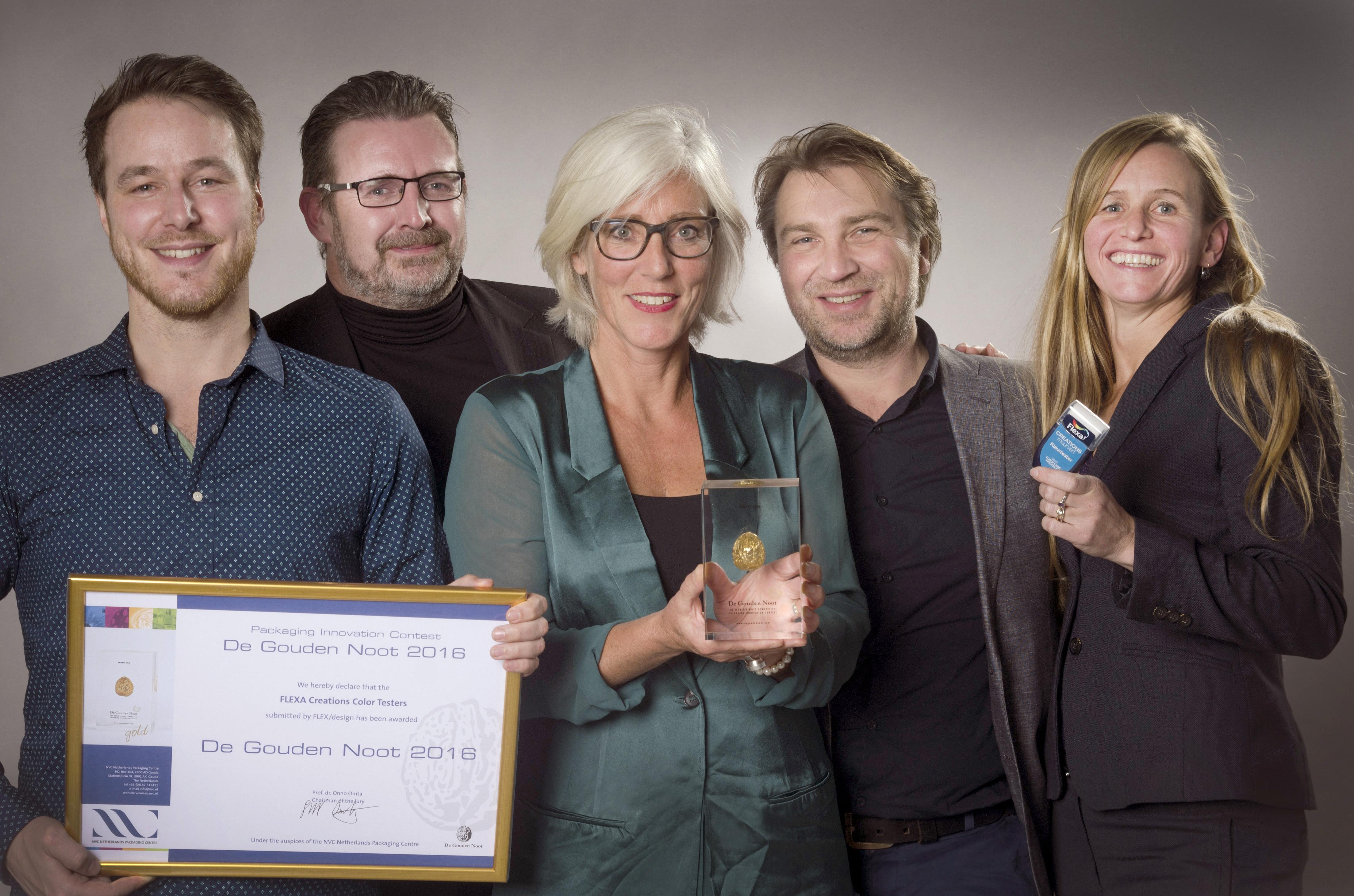 Winnaar-De-Gouden-Noot-2016-FLEXA-Creations Color-Testers