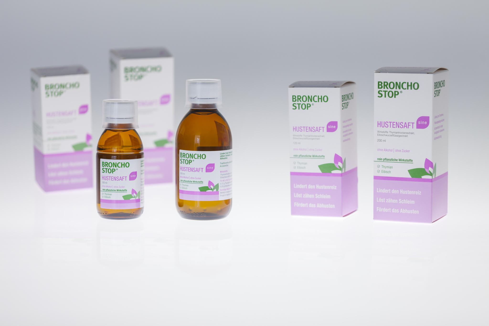BRONCHOSTOP® cough syrup